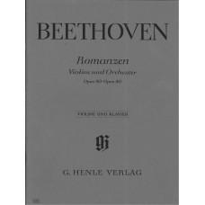 Beethoven Romanzen Op.40,50 for Violin