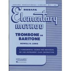Rubank Elementary Method for Trombone