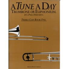 A Tune A Day for Trombone Treble Clef Book 1