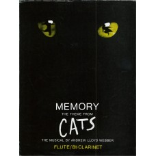 Memory the Theme from Cats for Flute/ B Flat Clarinet