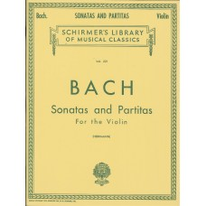 Bach Sonatas and Partitas for Violin