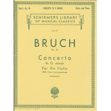 Bruch Op.26 Concerto in G Minor for Violin