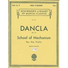 Dancla Op.74 School of Mechanism for the Violin