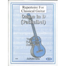 Canon in D for Classical Guitar