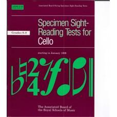 Specimen Sight Reading Tests for Cello Grade 6-8