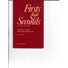 Firsts & Seconds An Introduction to Two-part Singing