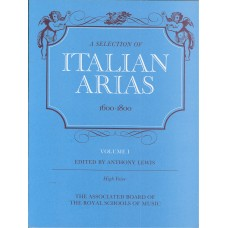 A Selection of Italian Arias 1600-1800 Vol 1 for High Voice
