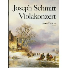 Joseph Schmitt Concerto in C for Viola