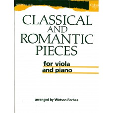 Classical and Romantic Pieces for Viola