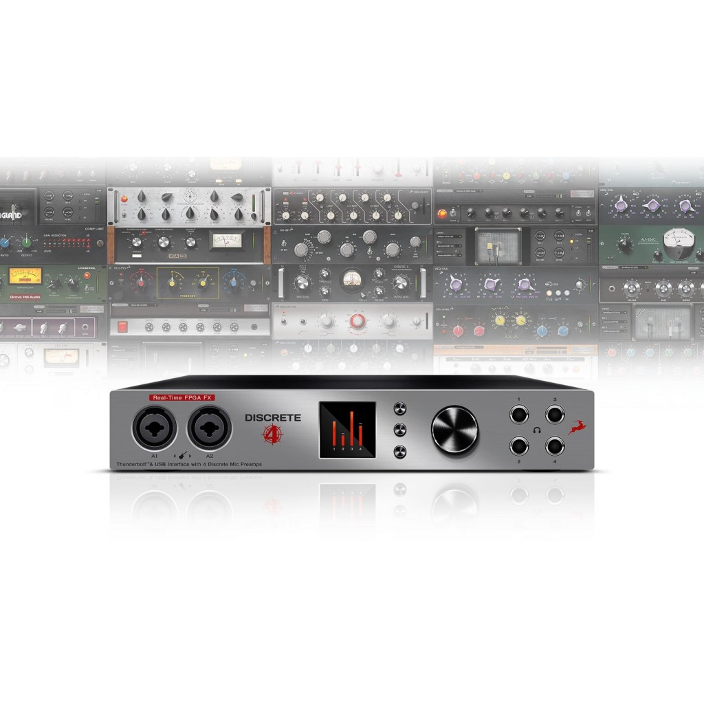 Antelope Audio Discrete 4 with Basic FX Pack *Demo