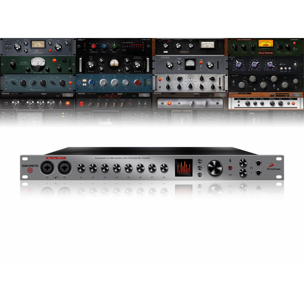 Antelope Audio Discrete 8 with Basic FX Pack