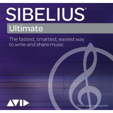 AVID Sibelius Ultimate Academic Upgrade for Teachers/Students Expired Plan, Perpetual, Download