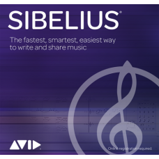 AVID Sibelius Perpetual License (Download) (renamed from Sibelius First)