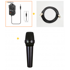 Comica Audio LinkFlex AD2 + Lewitt Audio MTP 250 DM + Mic Cable