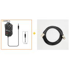 Comica Audio LinkFlex AD2 + Peavy 5825 Mic Cable 2m