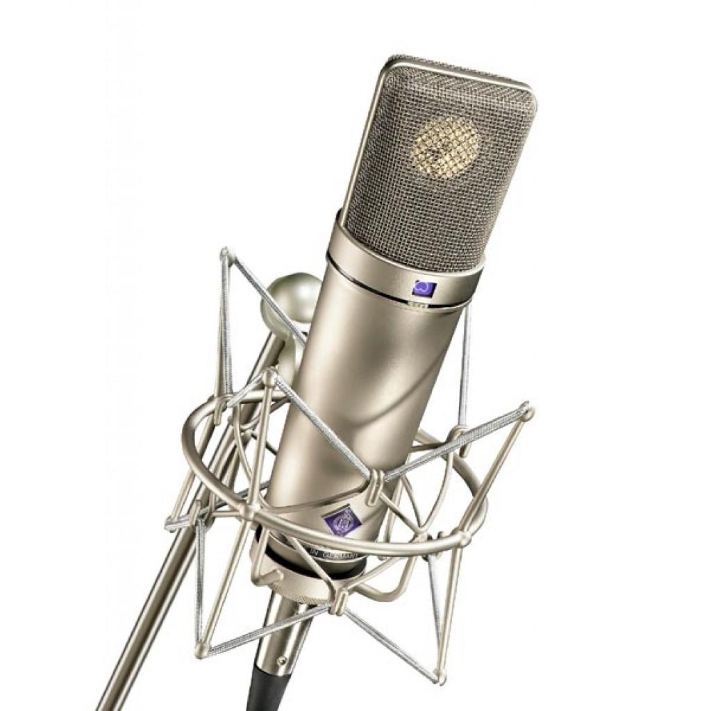 Neumann U87Ai Studio Set - Nickel