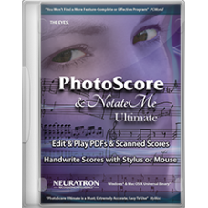 Neuratron PhotoScore & Notate Me Ultimate 2018 (Download)