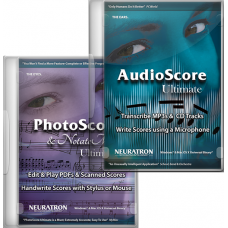 Neuratron PhotoScore&Notate Me Ultimate 2018 and AudioScore Ultimate 2018 (Download)
