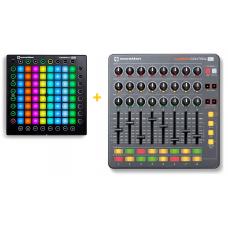 Novation Launchpad Pro + Launch Control XL MK1