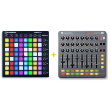 Novation Launchpad + Launch Control XL