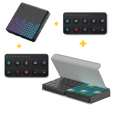 ROLI Lightpad Block M Studio Edition + Live Block + Loop Block + Snapcase Duo