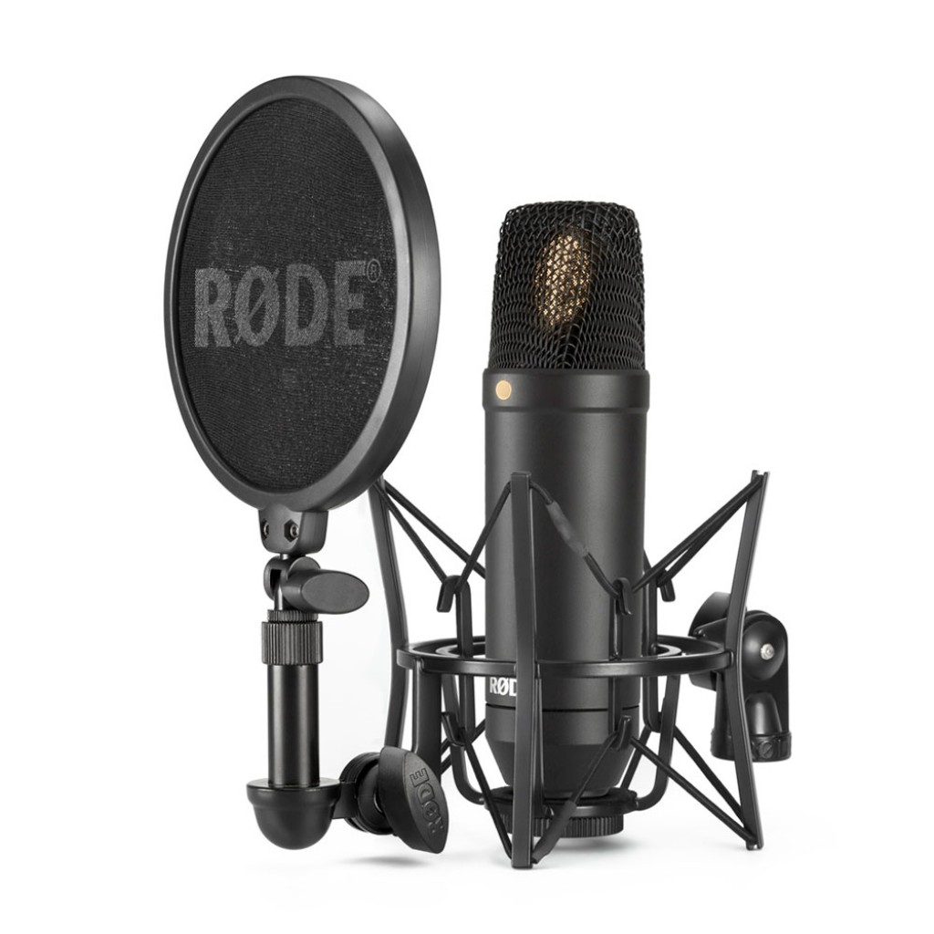 Rode NT1 Kit (with SM6 Shock Mount, Pop Filter & Mic cable)