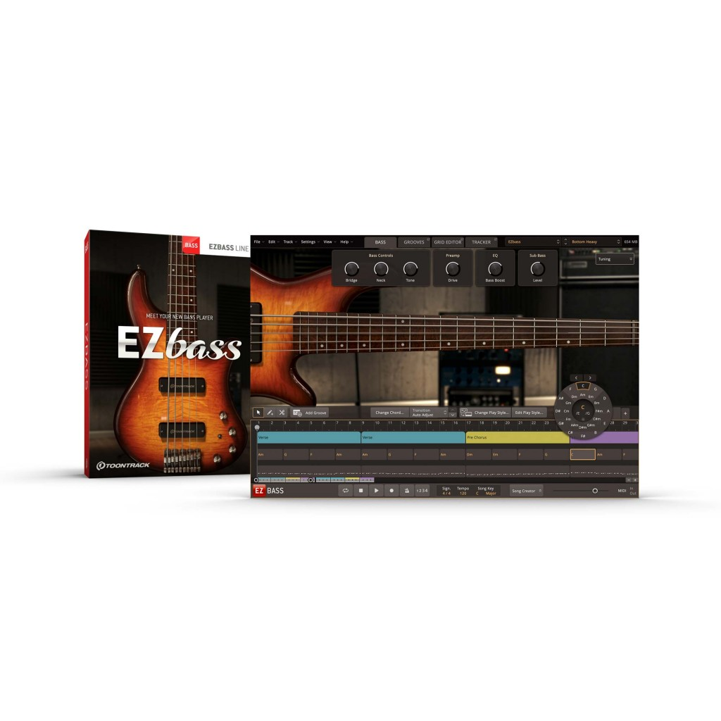 Toontrack EZbass (Download)
